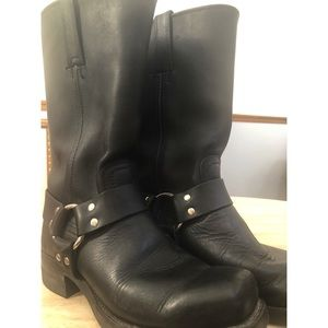 FRYE HARNESS BOOTS Oil Resistant Rugged